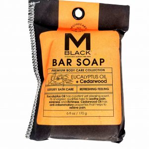 M Black Premium Facial Soap (Eucalyptus+Cedarwood)